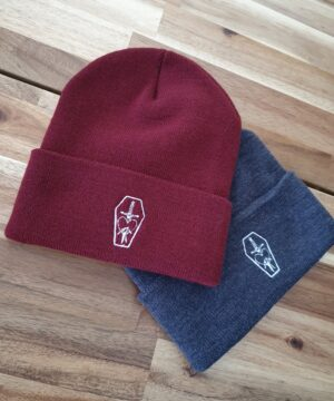 Love Death Pain embroidered logo beanie